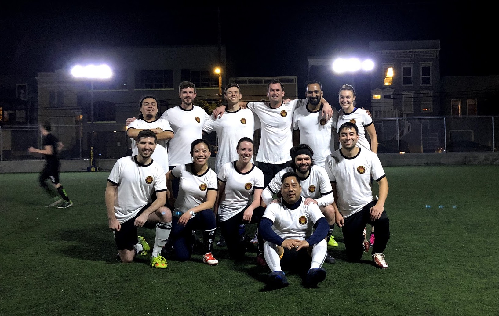 Molten Mouth soccer team photo